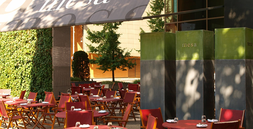 Mesa Restaurant Grand Hyatt Berlin